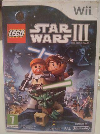 Juego Nintendo Wii Lego Star wars III