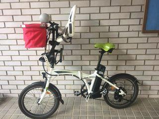 Bicicleta Freeel eléctrica y plegable