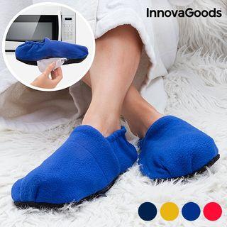 zapatillas de casa calentables en microondasInnov