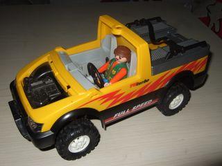 Coche rescate playmobil
