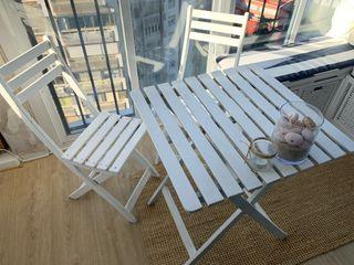 Mesa y silla jardín/terraza