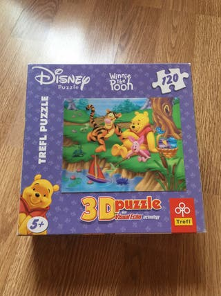 Puzzle 3D Winnie the pooh