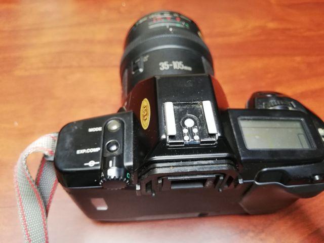 Canon EOS 650 + objetivo 35-105
