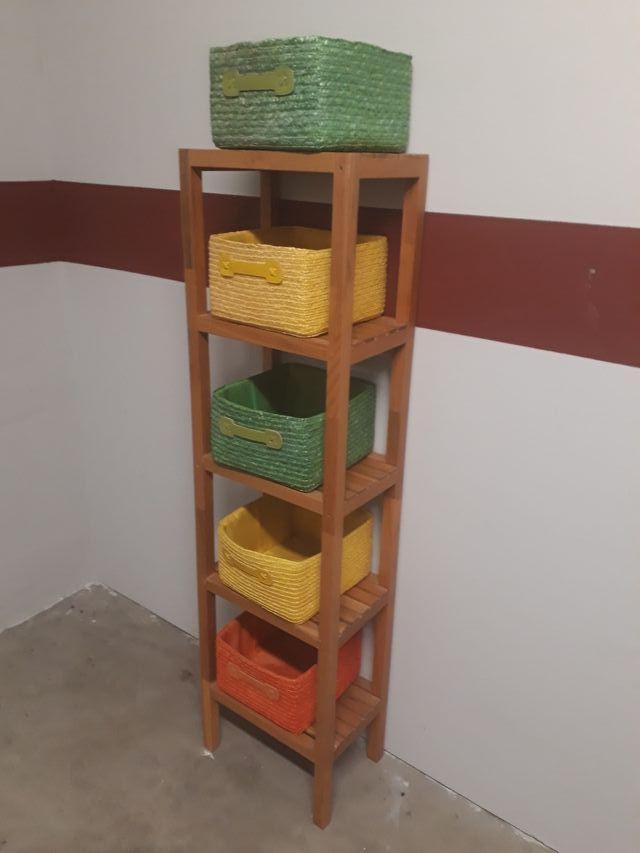 Estanteria columna