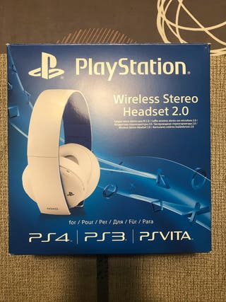 Auriculares PlayStation Ps4