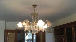 Lámpara comedor antigua.