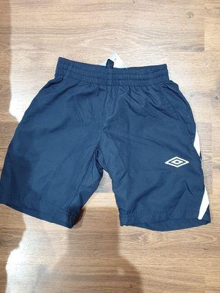 nuevo etiquetas pantalón corto deporte umbro