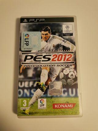 PES 2012 PSP.