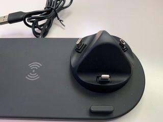 Cargador 3 en 1, para IPhone - Watch y Airpods.