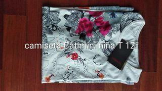 Camiseta Catimini Niña