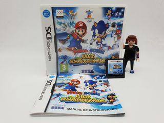 MARIO & SONIC Juegos Invierno DS