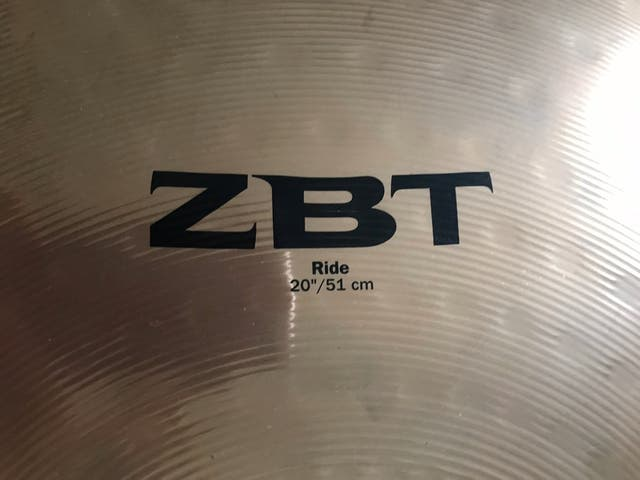 Zildjian ZBT 20 inches Ride