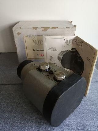 lente proyector cine multiscope OSSA nuevo