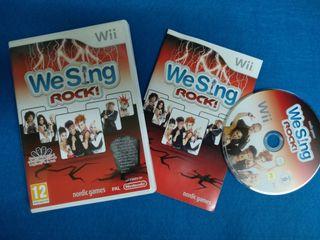 Wii - We Sing Rock