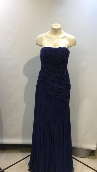 Vestido elegante de noches bodas Pronovias