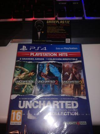 Uncharted Collection Ps4 (PRECINTADO)
