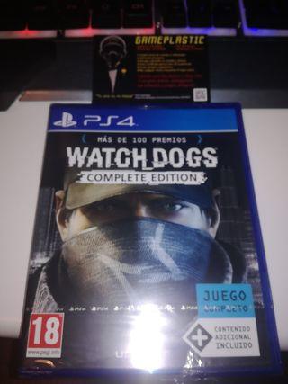 Watch Dogs Complete edition Ps4 (PRECINTADO)