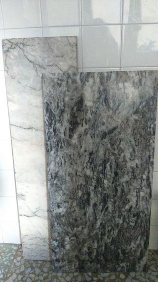 2 piezas de marmol
