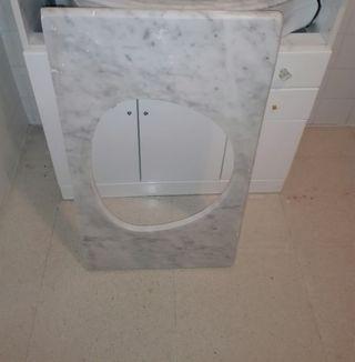 piedra de mármol para lavabo