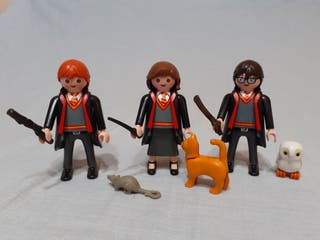 Harry Potter Hermione y Ron playmobil