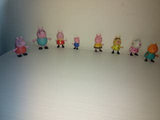 Muñecos/figuras Peppa pig