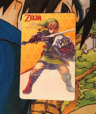 Tarjeta Amiibo Link Skyward Sword