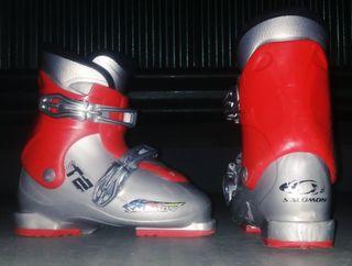 botas de esquiar 31-32