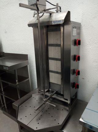máquina de asar kebab