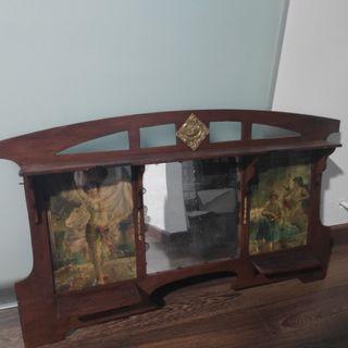 Espejo antiguo con laminas