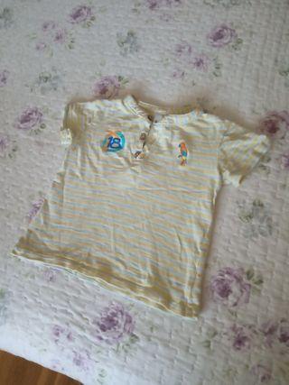 Camiseta de bebe