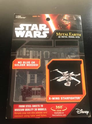 Metal puzzle 3D X-WING STARFIGHTER