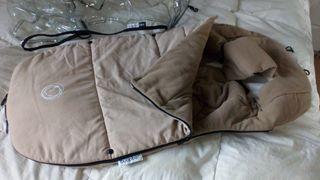 saco silla bugaboo color arena invierno