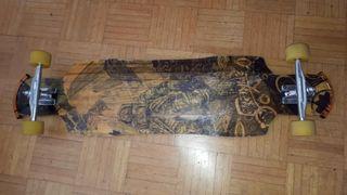 Skate Longboard Rayne completo.
