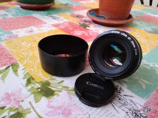 Objetivo Canon EF 50mm 1,4