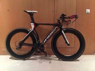 Bici triatlon crono ORBEA Ordu + ZIPP