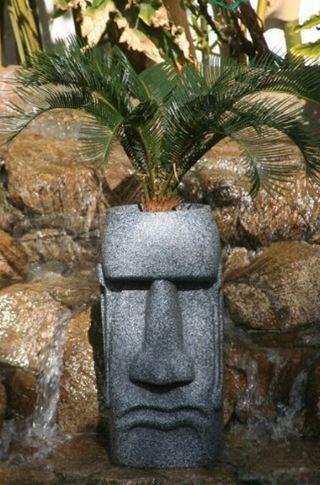 esculturas tikis y tonton