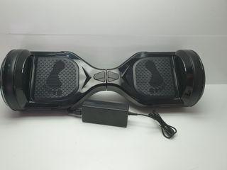 Hoverboard Black Luces Led