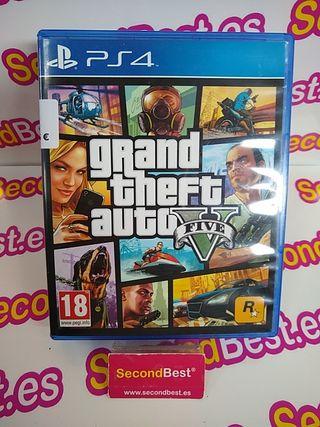 Juego GTA 5 para PS4