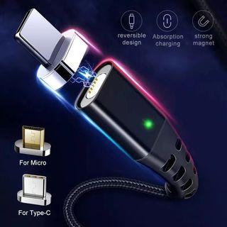 GETIHU 3,0 a cargador rápido Cable 2M plata