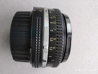 Objetivo Nikkor 50mm f/1.8