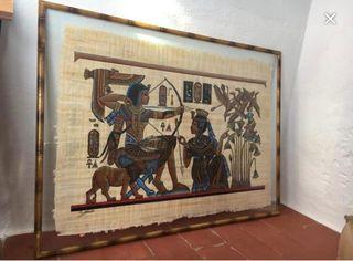 Papiro comprado en Egipto