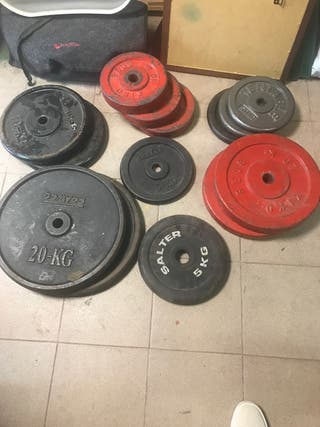 Discos d pesas