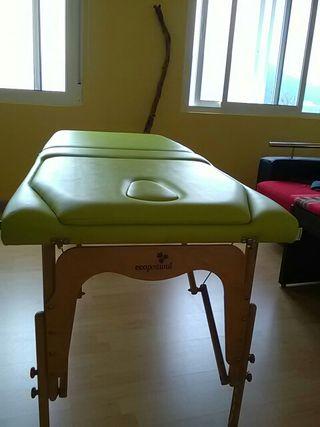 camilla de masajes plegable ECOPOSTURAL