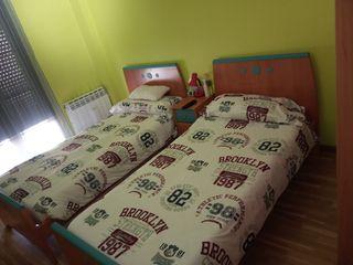 habitación completa,camas de 90 cm