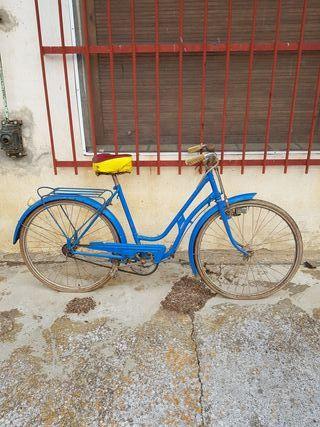 Bicicleta Bh antigua modelo gacela 1960