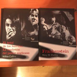Novelas de suspense y terror