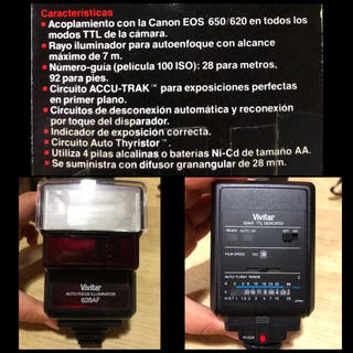 Cámara CANON EOS 750 analógica