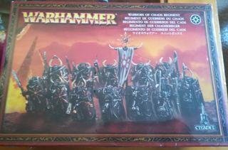Warhammer guerreros del Caos, NUEVA y precintada