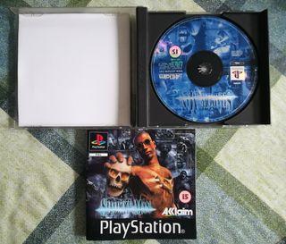 Shadowman Pal España Ps1 Psx Playstation 1