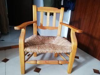 silla mimbre